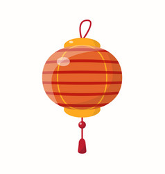 chinese new year lantern vector image