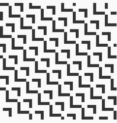 Abstract seamless pattern of bold rectangular vector