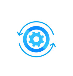 Automation icon vector