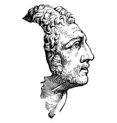 Diomedes vintage vector