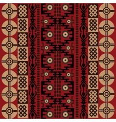ethnic African symbols vector image vector image