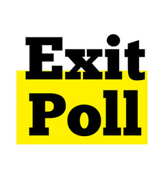 Exit poll stamp typ vector