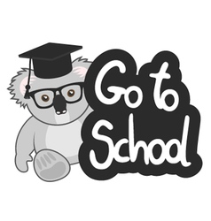 Go to school vector