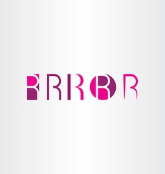 Letter r magenta icons set collection symbol vector