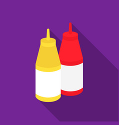 Sauce icon in flat style for web vector