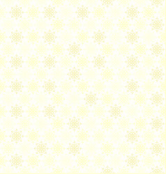 snowflake pattern seamless background vector image