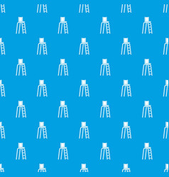 tennis tower for judges pattern seamless blue vector image