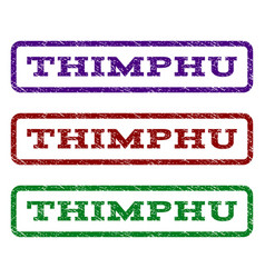 Thimphu watermark stamp vector