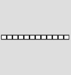 35 mm film strip vector image