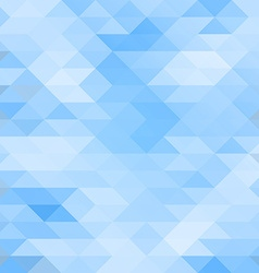 Mosaic triagle background vector image