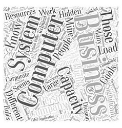 A Hidden Gold Mine in Every Business Word Cloud vector