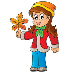 Autumn thematic image 7 vector