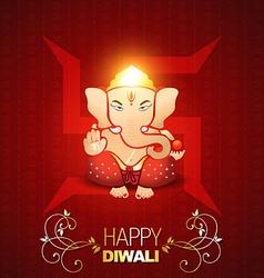 indian god ganesh vector image