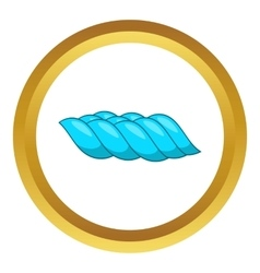 Sea wave icon vector