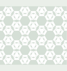 subtle retro vintage geometric seamless pattern vector image