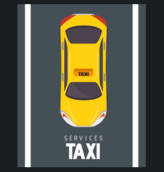 taxi cab design vector image