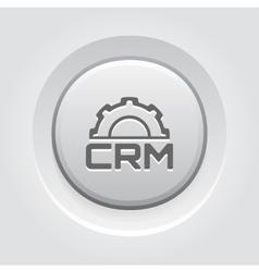 CRM Platform Icon vector image vector image
