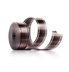 Cinematography movie video vector image vector image