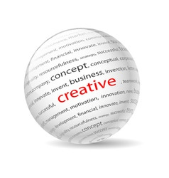 creative vector image vector image