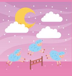 Dream image background vector