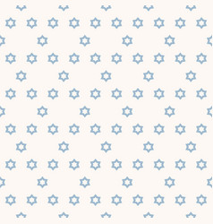 geometric minimalist seamless pattern with stars vector image