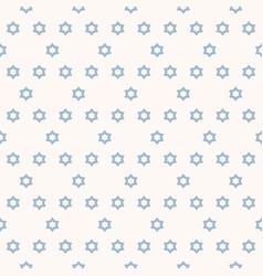 geometric minimalist seamless pattern with stars vector image