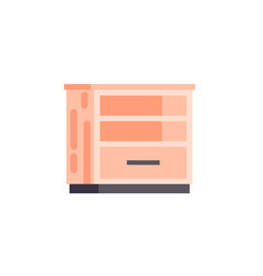 isolated icon furniture empty vector image