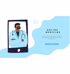 patient and doctor video communication through vector image