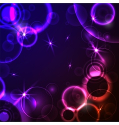 Abstract neon background vector
