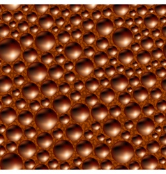 chocolate seamless background vector image vector image