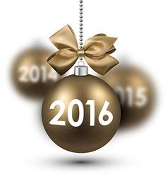 2016 New Year card vector