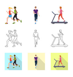 design sport and winner sign set of vector image