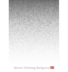 Gray Technology Background a4 format A4 size vector image