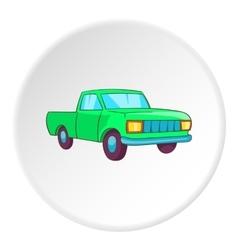 Pickup icon cartoon style vector image