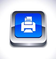 Print 3d button vector