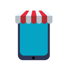 shop store symbol vector image