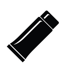 tube container for cream icon simple style vector image