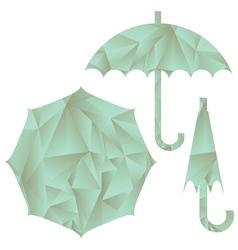 Umbrella set vector
