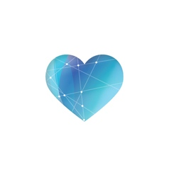7 6 2016 heart vector image