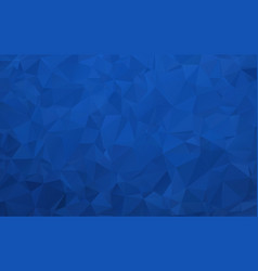 Abstract dark blue polygonal background with vector