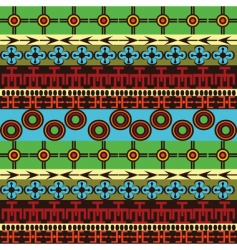 African traditional vector image vector image