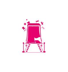 Design logo photobooth vector