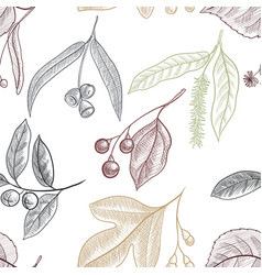 drawing seamless pattern vector image