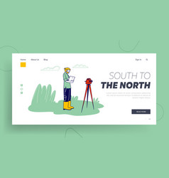 Geological or archaeological expedition resource vector