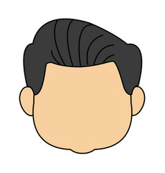 Grandfather man family person face vector