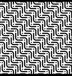 Herringbone monochrome seamless pattern in flat vector