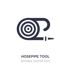 Hosepipe tool to extinguish fire or gardening vector