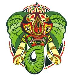 Totem animal Elephant vector image