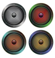 Audio speaker icon5 vector