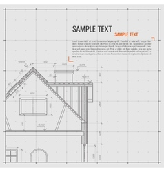 Architectural background vector image vector image